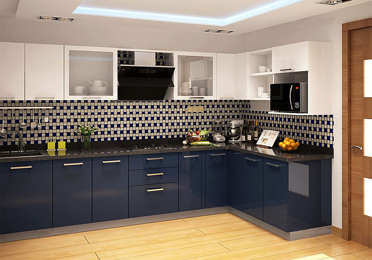 Design your own modular kitchen with kitchen design ideas for Online modular kitchen designs