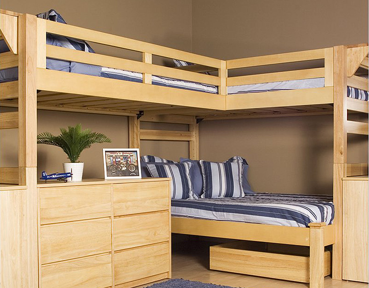 Fashionable Loft Bed Designs for Adult