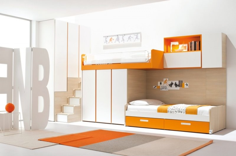 Modern Diy Loft Bed Design Idea