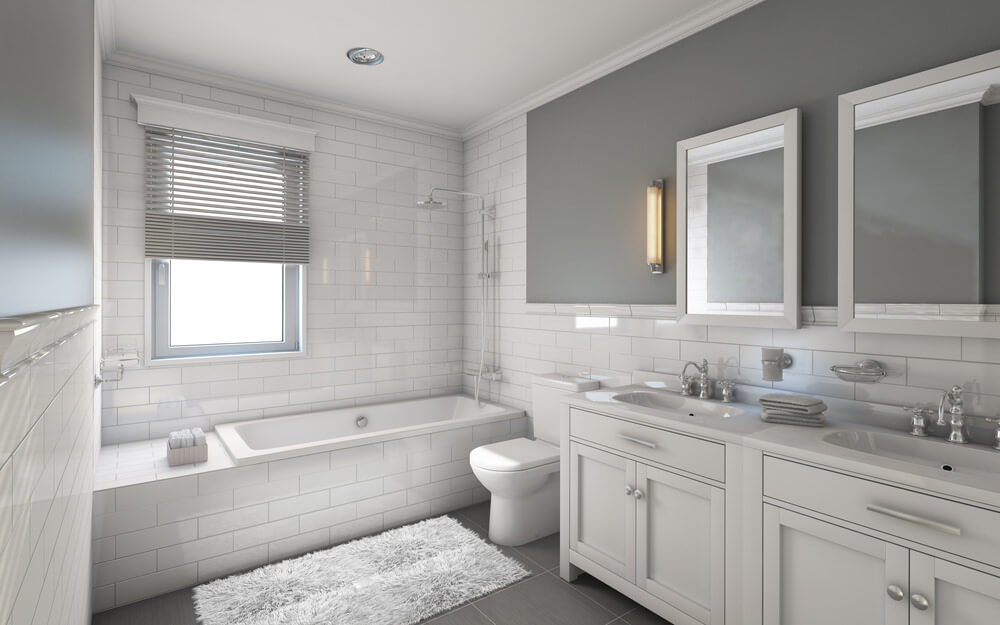 5 best bathroom colors schemes and paint ideas for bathroom decor - Bathroom Remodel Color Schemes