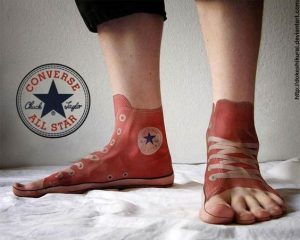 3D Shoes Tattoo
