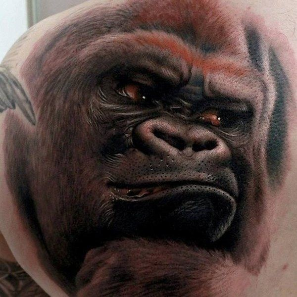 3d Kingkong Tattoo