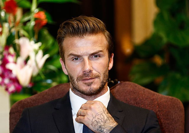David Beckham Nick-Named