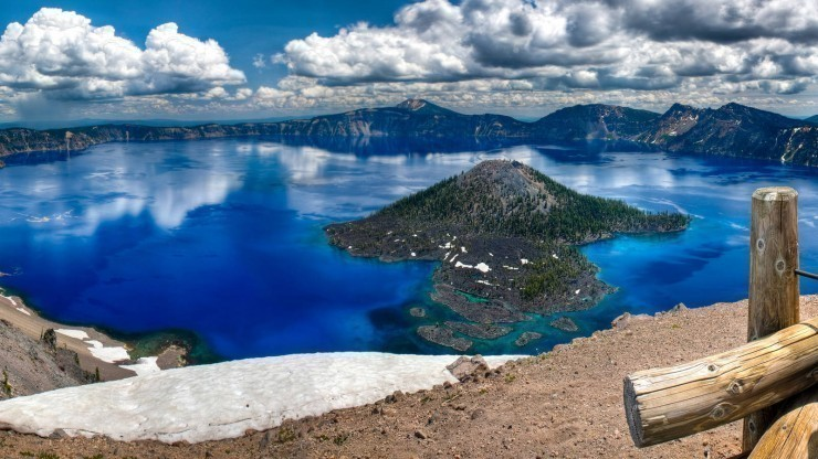 Giant Crater Lake