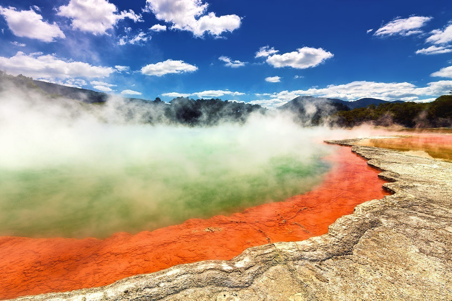 The Champagne Pool, New Zealand