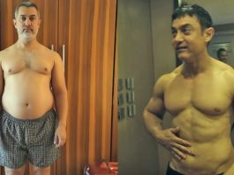 Aamir Khan's Amazing Body Transformation