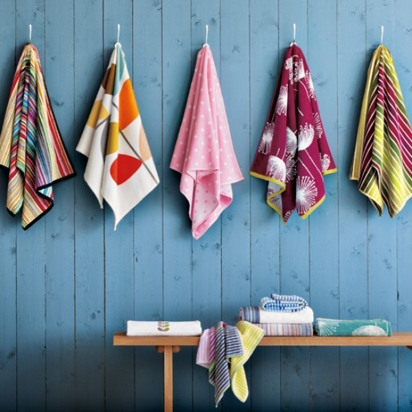 Coloured Towels in Your Bathroom