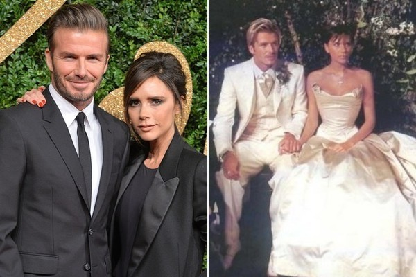 David Beckham Wedding Pictures