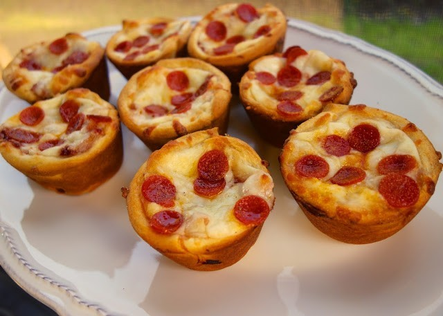 3. Mini Deep Dish Pizza
