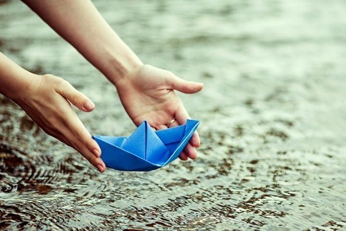 Childhood Memories of Drifting Paper Boats