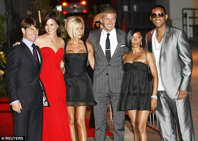 Party for David Beckham