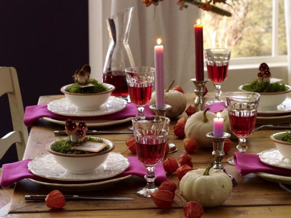 Fabulous of Red with Purple for thanksgiving