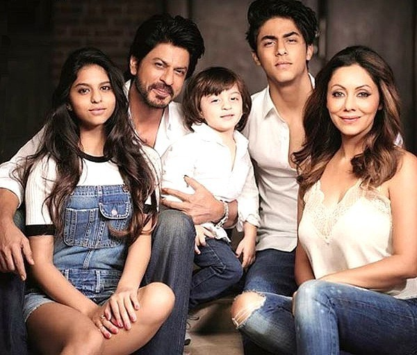 Shahrukh Khan Family Photo