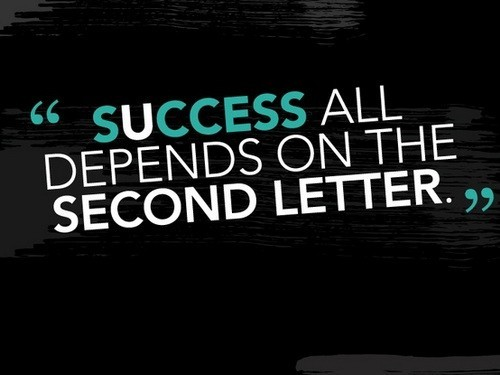 Success All Depends on the....