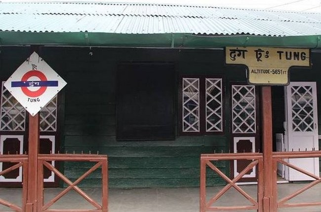 Tung Railway Station in West Bengal