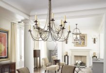Amazing beaded chandelier shades decorating ideas