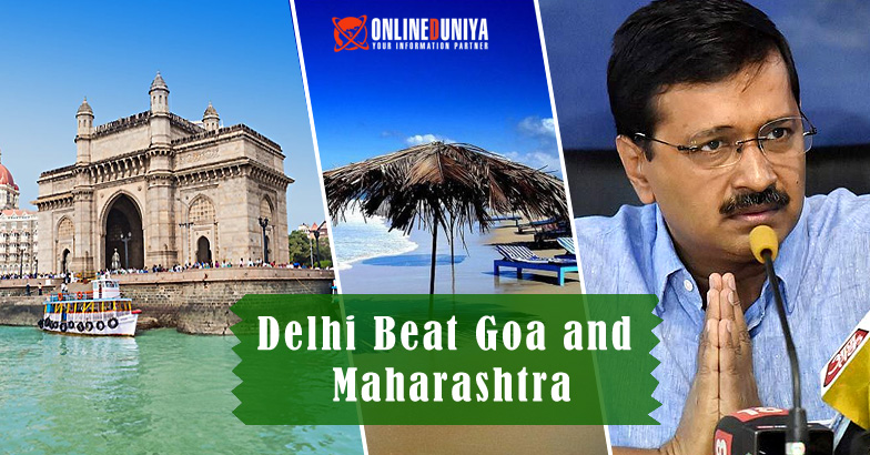 Delhi Beat Goa and Maharashtra