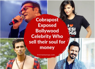 Cobrapost Expose Bollywood