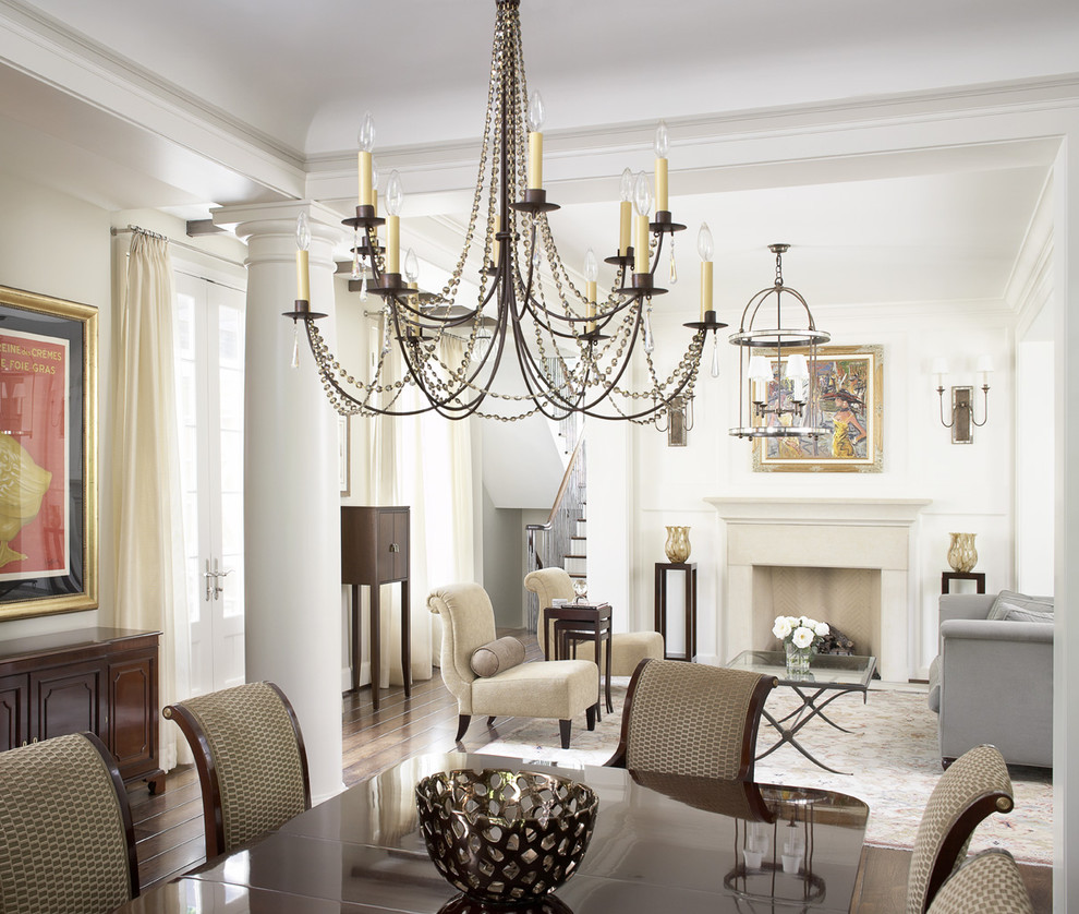 A Small Crystal Chandelier Is Great For Decorating
